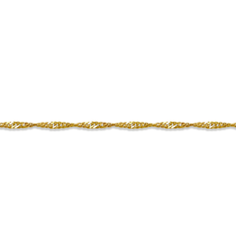 "10K Yellow Gold (1.5mm) Singapore (16""-24"") Chains"