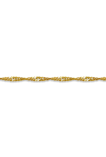 "10K Yellow Gold (1.5mm) Singapore (16"" - 24"") Chains"