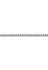 """10K White Gold (1.6mm) Box Chains (16"""" - 24"""")"""