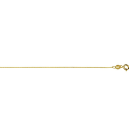Yellow Gold (16 - 24in) Curb Chains 0.8mm