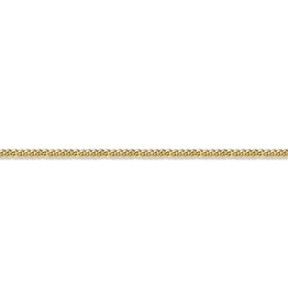 Yellow Gold (16 - 24in) Curb Chains 1.0mm
