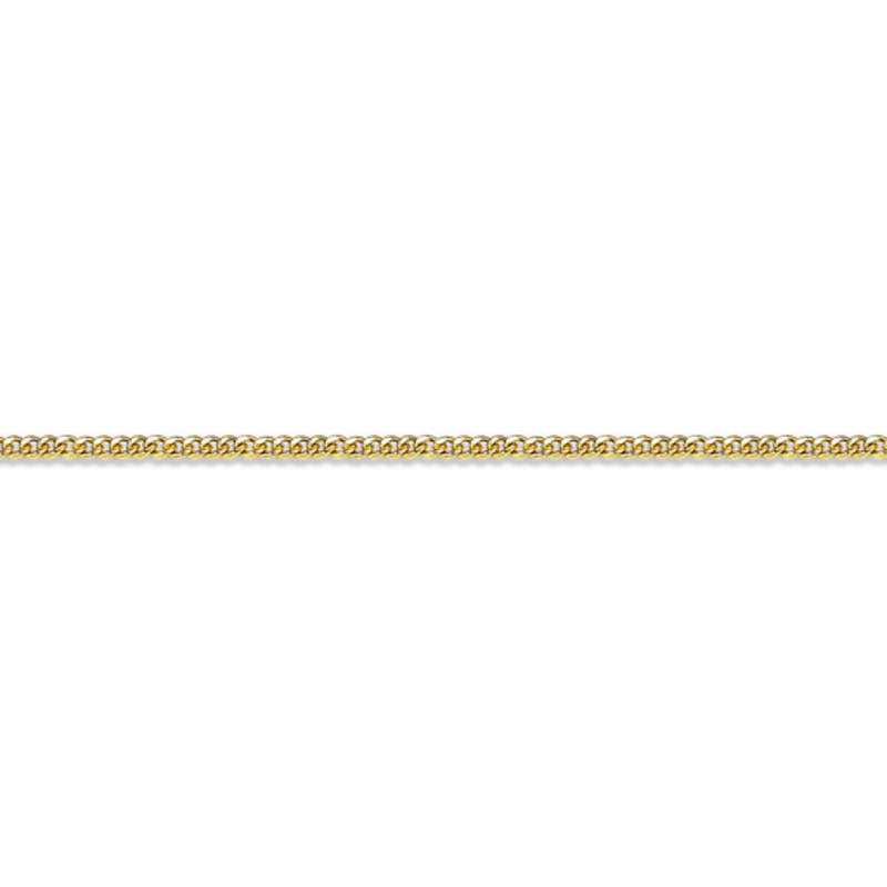 """10K Yellow Gold (1.2mm) Curb Chain (16"""" - 24"""")"""