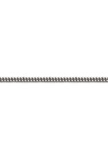"10K White Gold (1.3mm) Curb Chains (16 - 24"")"