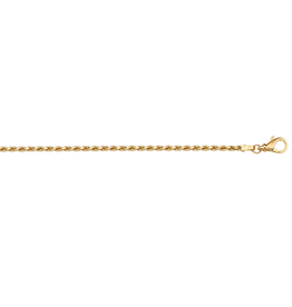 Yellow Gold (16 - 24in) Rope Chains 1.4mm