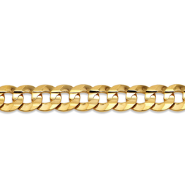 Yellow Gold (20 - 24in) Curb Chain 5.5mm