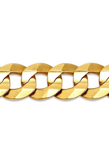 """10K Yellow Gold (7.6mm) Curb Chain (20"""" -26"""")"""