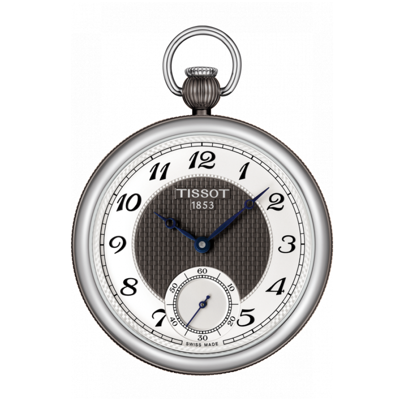 Tissot Tissot Bridgeport Lepine Mechanical Gray Tone Pocket Watch