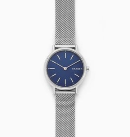 Skagen Skagen Signatur Steel-Mesh Ladies Watch