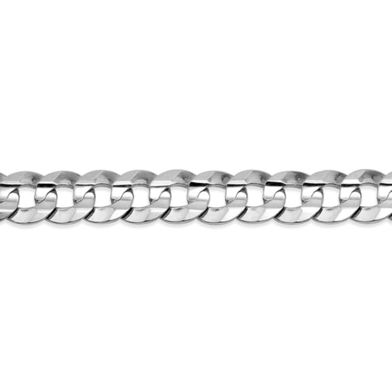 "10K White Gold (5.6mm) Curb Chains (20"" - 24"")"