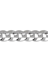 White Gold (20 - 24in) Curb Chains 6mm