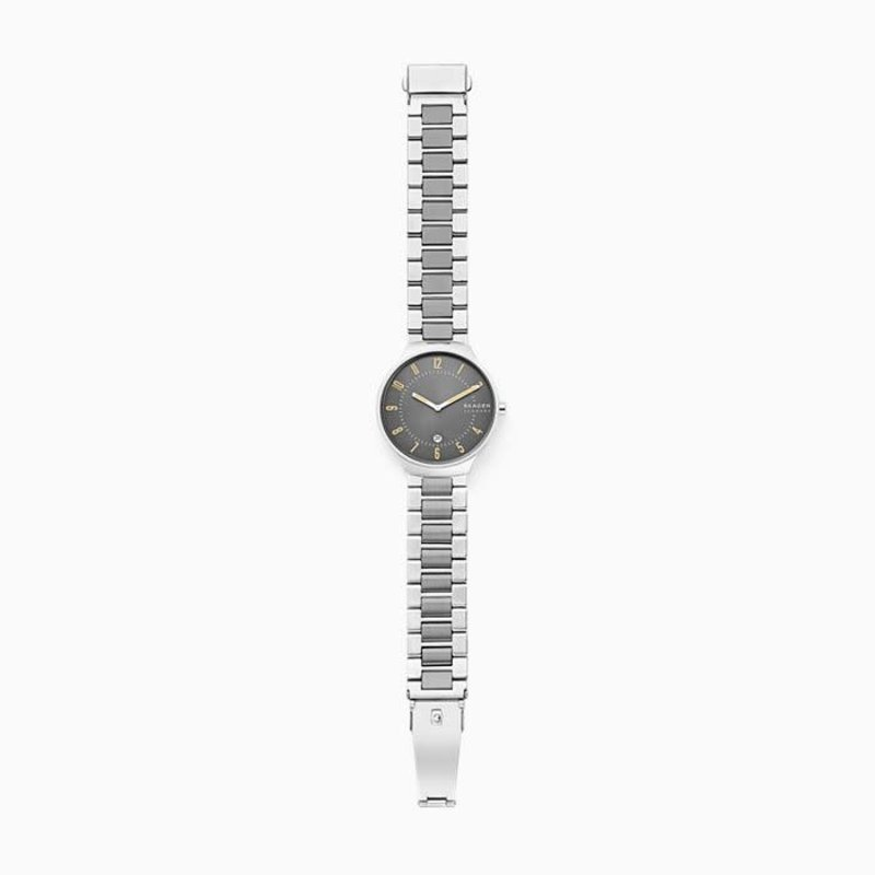 Skagen Skagen Grenen Slim Two-Tone Steel-Link Watch