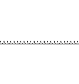 Sterling Silver (16 - 26in) Box Chains 2mm
