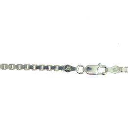 Sterling Silver (3mm) Box Chains (20in - 26in)