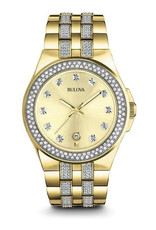 Bulova Bulova 98B174 Men's Crystal Watch