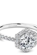 Noam Carver Bridal Diamond Custom Mount White Gold