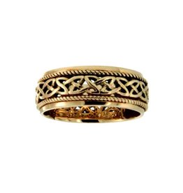 Keith Jack Keith Jack Ederline 10K Yellow Gold Celtic Ring