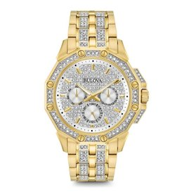 Bulova Bulova 98C126 Mens Crystal Watch
