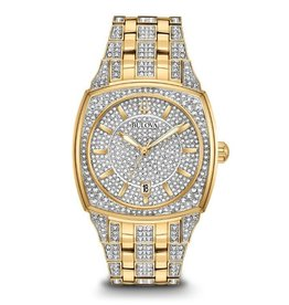 Bulova Bulova 98B323 Mens Crystal Watch