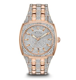Bulova Bulova 98B324 Mens Crystal Watch