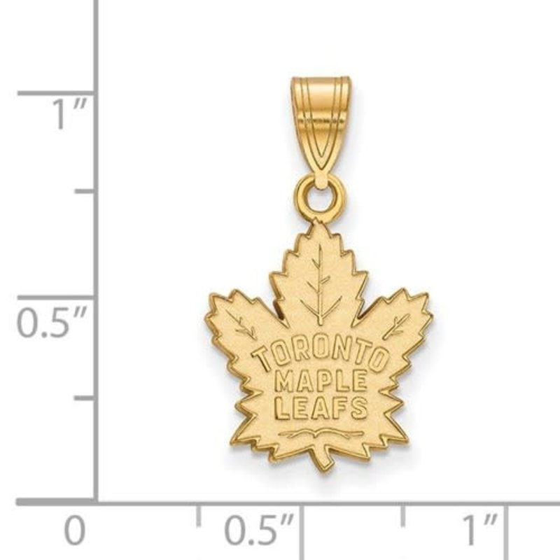 NHL Licensed NHL Licensed (Medium) Maple Leafs 10K Yellow Gold
