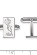 NBA Licensed 2019 NBA Championship Toronto Raptors Sterling Silver Cuff Links