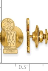 NBA Licensed 2019 NBA Championship Toronto Raptors Gold Plated Lapel Pin