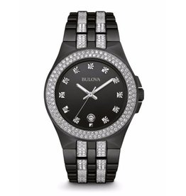 Bulova Bulova 98B251 Men's Crystal Watch