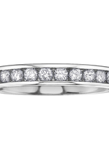 White Gold (0.10ct - 0.20ct) Diamond Anniversary Bands