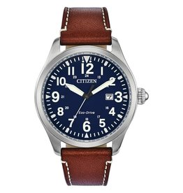 Citizen Citizen Garrison Men's Eco Drive Leather Watch