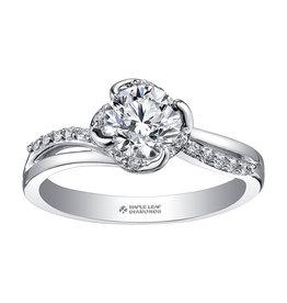 Maple Leaf Diamonds Maple Leaf Canadian Diamond (0.50ct) White Gold Engagement Ring
