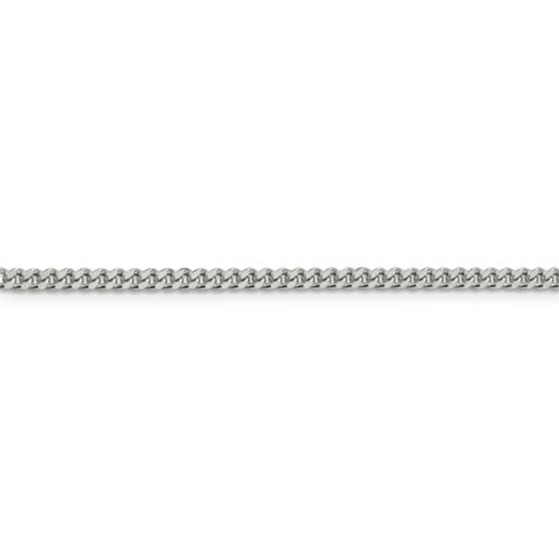 Sterling Silver (18 - 26in) Curb Chains 3mm