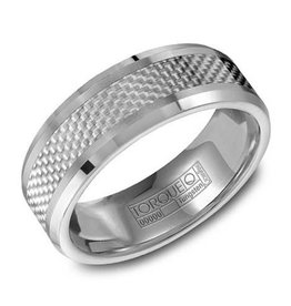 Torque Torque Carbon Fiber Mens Ring