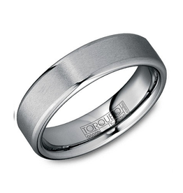 Torque Torque Tungsten Carbide Mens Ring