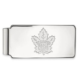 NHL Licensed Toronto Maple Leafs Sterling Silver Money Clip