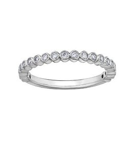 White Gold Stackable Diamond (0.12ct - 0.27ct) Band