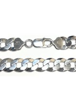 Sterling Silver (20 - 26in) Curb Chains 10mm