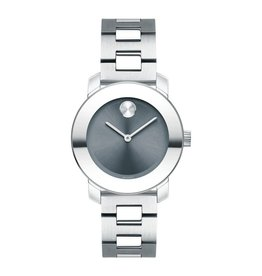Movado Movado Bold with Sunray Dot Blue Dial
