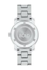 Movado Movado Bold with Sunray Dot Blue Dial