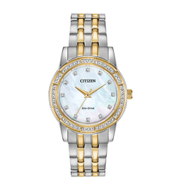 Citizen Citizen Eco Drive Ladies Silhouette Crystal Watch