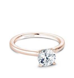 Noam Carver Noam Carver 14K Rose Gold Solitare Mount Ring