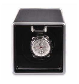 Rotations Silver Metal Single Watch Winder