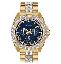 Bulova 98C128 Men's Crystal Watch