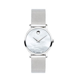 Movado Movado Museum Classic Ladies Mother of Pearl Watch