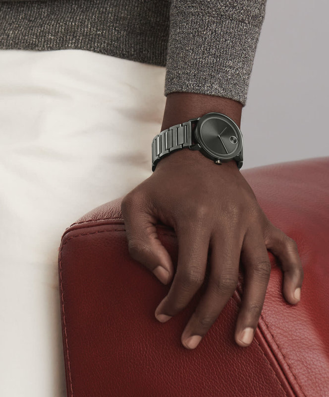 Movado Movado Bold Evolution Watch with Gunmetal Dial
