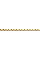"10K Yellow Gold (1.6mm) Box Chain (16"" - 24"")"