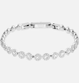 Swarovski Swarovski Angelic Bracelet, White, Rhodium Plated Bracelet