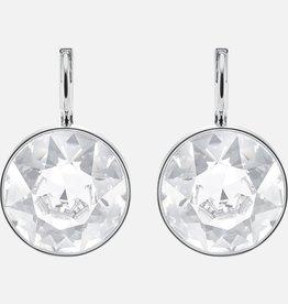 Swarovski Swarovski Bella Earrings, White Rhodium Plated