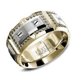 Carlex Carlex White and Yellow Gold Luxury G3 Mens Diamond Ring