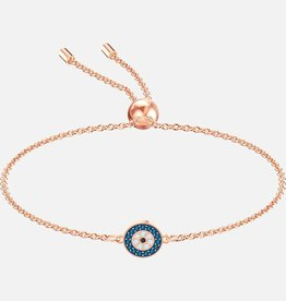 Swarovski Swarovski Luckliy Bracelet, Multi-colored, Rose Gold Plated