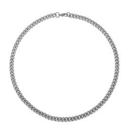 Steelx Steel Black Curb Chain